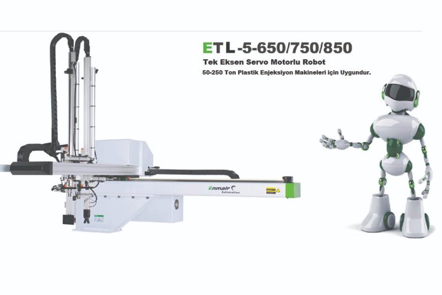 ETL Serisi Tek Eksen Servo Robot