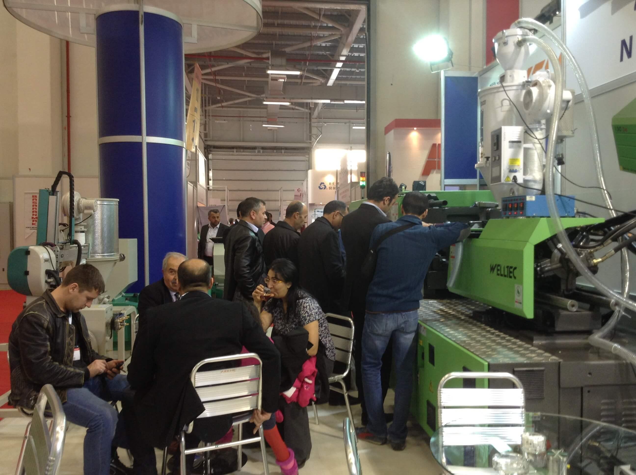 Plast Eurasia 2013 Fuarında Nokta Plastik Teknolojileri Welltec Plastik Enjeksiyon Makineleri