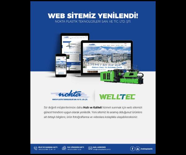 WEB Sitemiz yenilendi!