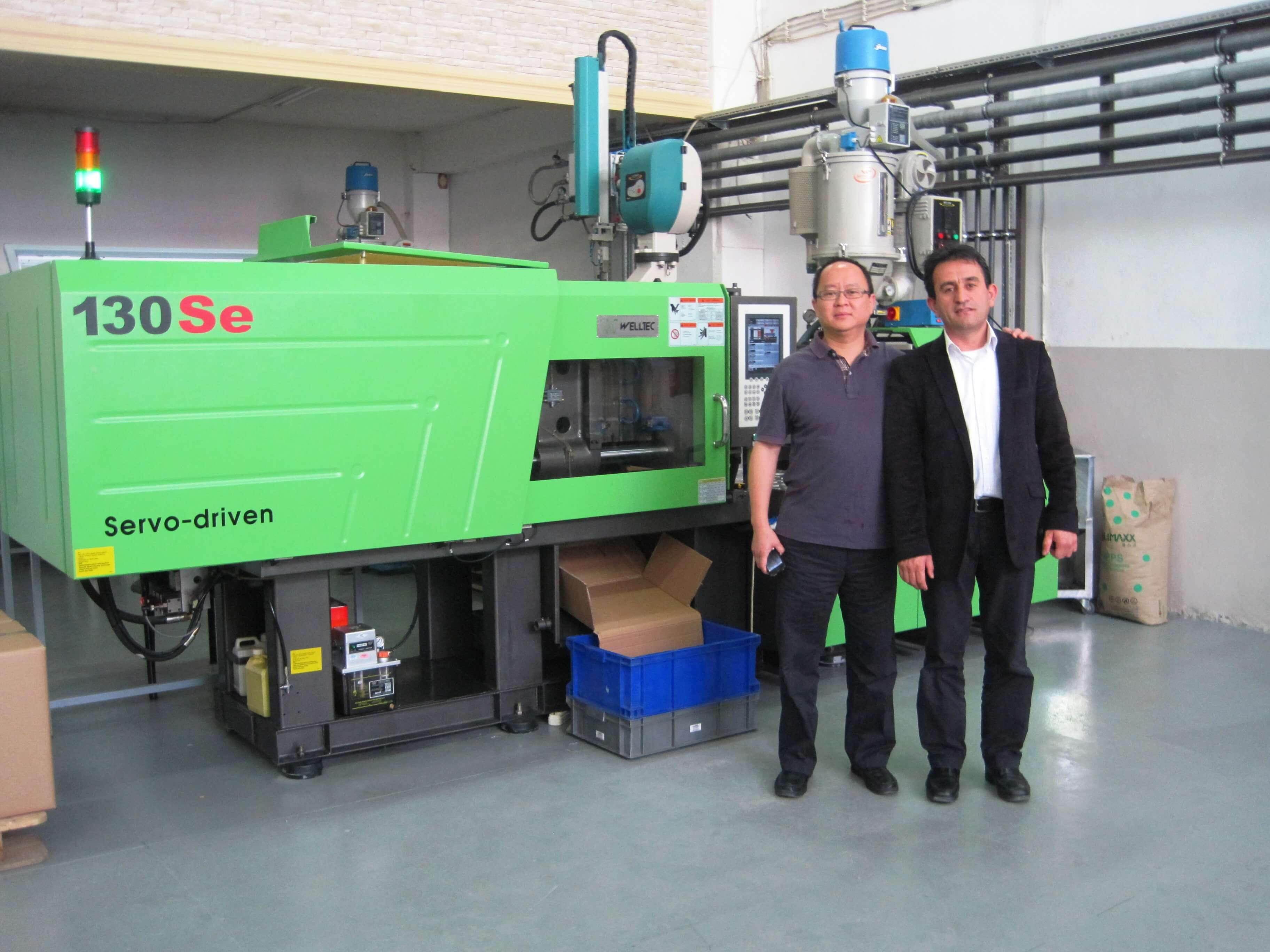 Welltec Machinery'nin Genel Müdürü Mr.Wilson Wong Nokta Plastik Teknolojilerini Ziyarete Geldi
