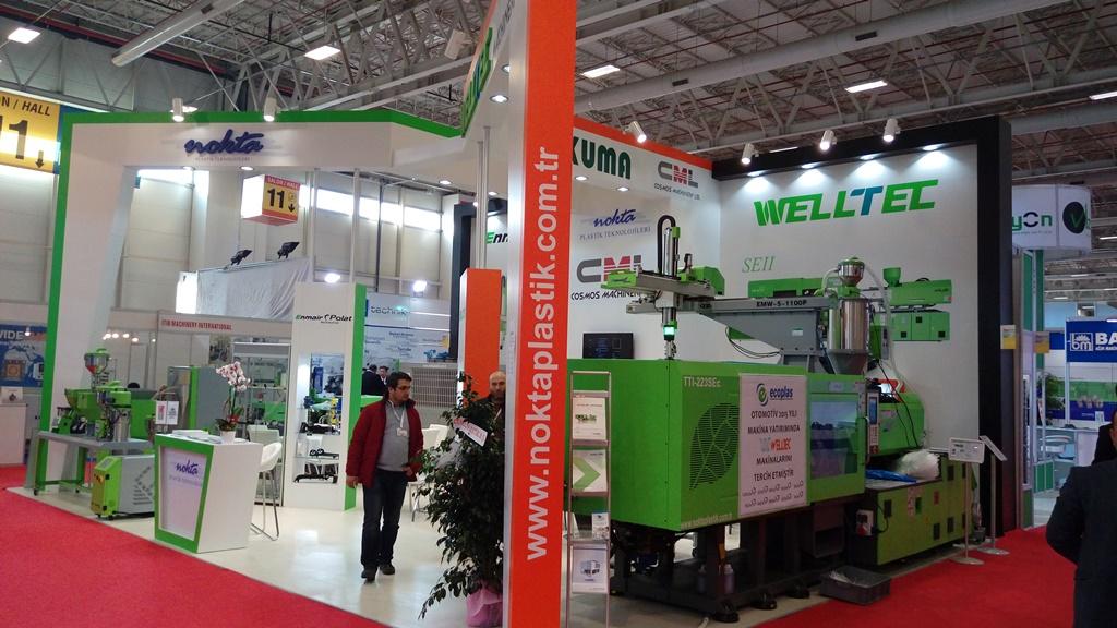 Plast Eurasia 2015 Fuarında Nokta Plastik Teknolojileri