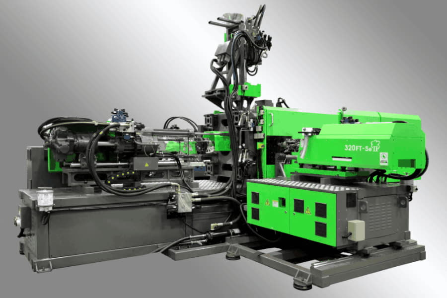 FT-SEII Series Multi-Material Servo-driven Energy Injection Moulding Machine