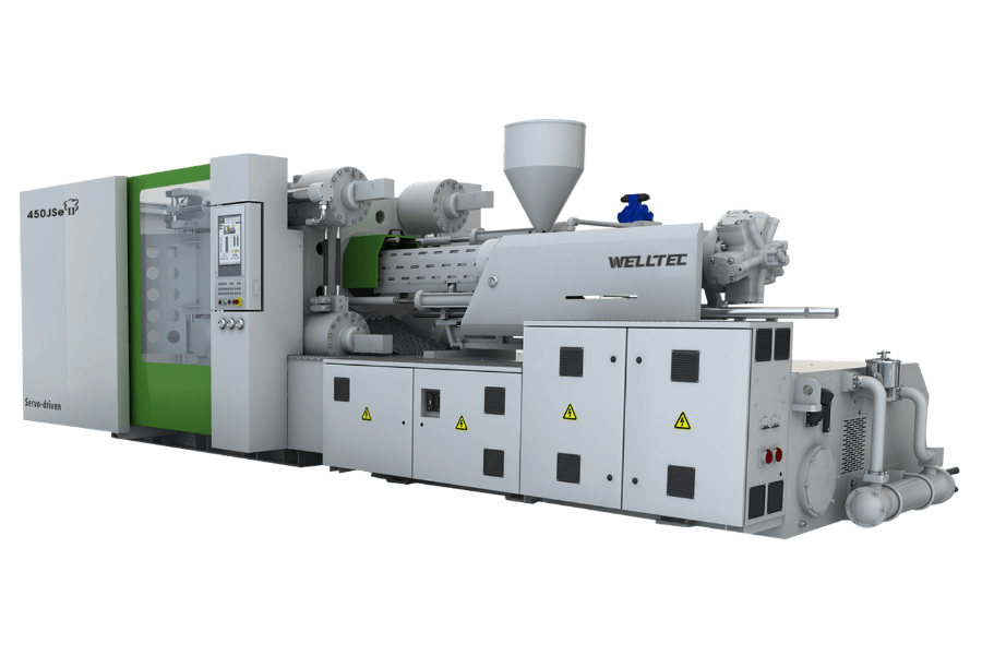 JSEII(450-900t) Series Small and Medium Size Servo-driven Two-platen Injection Moulding Machine